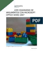 Cómo hacer diagramas de argumentos con microsoft office word 2007