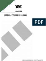 Brother PT-2300, 2310, 2450 Service Manual.pdf