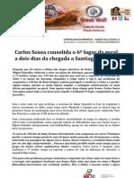 COMUNICADO DE IMPRENSA   CARLOS SOUSA - 12ª ETAPA DAKAR'2013