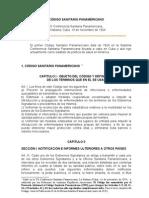 OPS - 1924 -Código Sanitario Panamericano