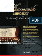 Filarmonik Miroslav Manual