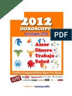 Horóscopo 2012