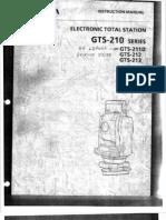 Topcon 211-D manual
