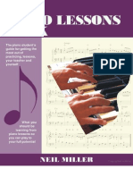 The piano lessons book
