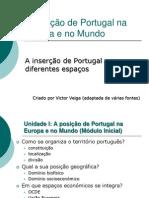 a posição de portugal no mundo