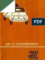 FIAT 500 F/L USO e MANUTENZIONE