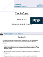 Gov. Deval Patrick's proposal for tax reform