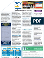 Pharmacy Daily for Fri 18 Jan 2013 - Adverse events, Flublok, Virtual Clinic Placement and much more...