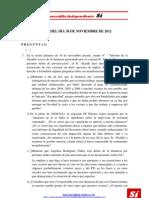 Preguntas y ruegos _ pleno 27/12/2012
