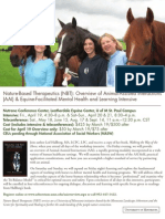 Animal-Assisted Interactions and Equine-Facilitated Mental Health and Learning Intensive