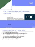 IBM PM Competency