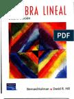 Álgebra Lineal de Kolman 8va ed