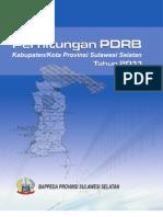 Produk Domestik Regional Bruto Provinsi Sulawesi Selatan