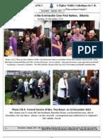 Newsletter December 2012 January 2013