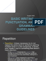 Grammar Writing 1