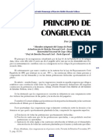 PRINCIPIO DE CONGRUENCIA PROCESAL