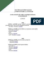 Legis Speciale Penale in Romania