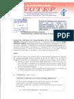 Oficio al JNE - Entrega de planillones