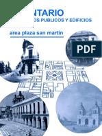 Inventario de espacios públicos y edificios_área plaza San Martín_Córdoba