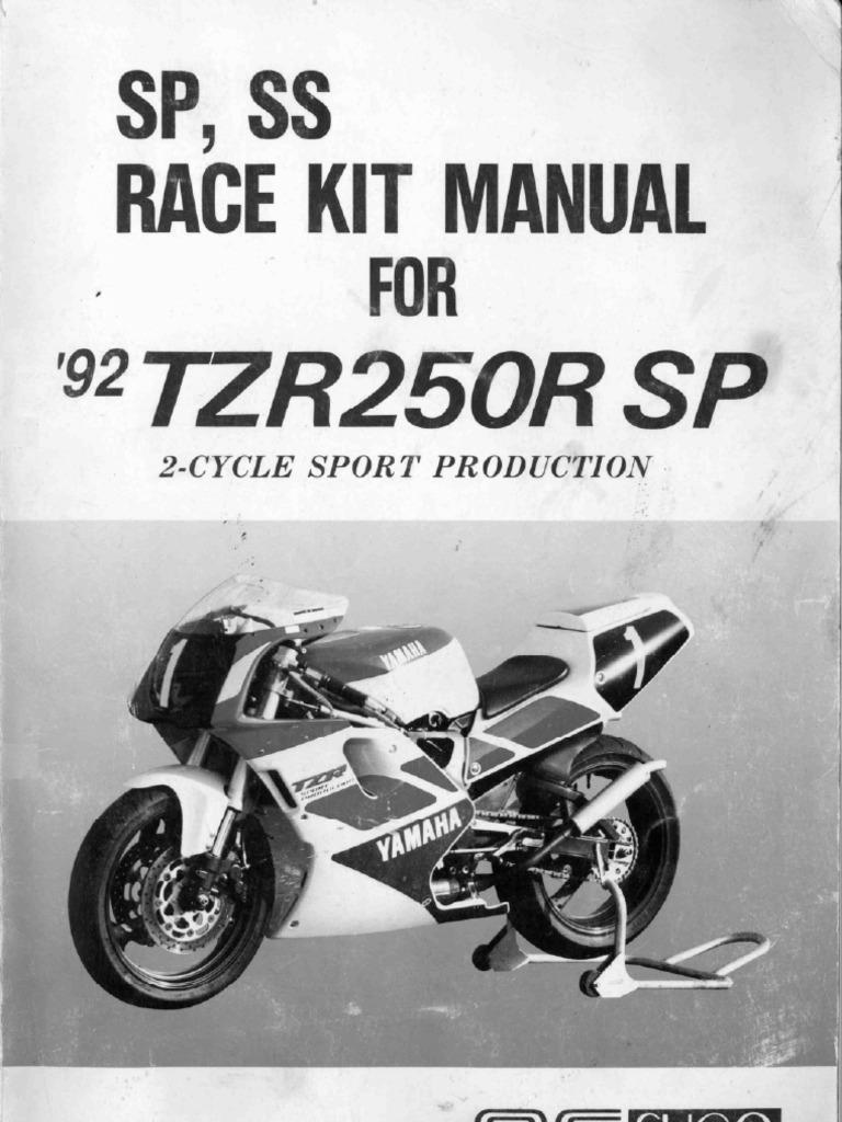 yamaha tzr250 3xv sp f3 sugo manual rh scribd com yamaha tzr 250 2ma workshop manual yamaha tzr 250 2ma workshop manual