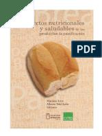 ASPECTOS NUTRICIONALES Y SALUDABLES DE PRODUCTOS DE PANIFICACION