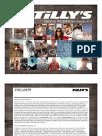 $TLYS Tilly's Jan 2013 Corporate Investor ICR Presentation Slides Deck PPT PDF