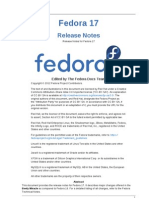 Fedora 17 Release Notes