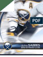 Buffalo Sabres Media Guide 2013