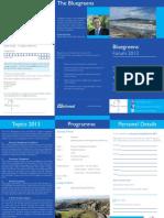 Blue Greens Forum 2012