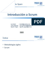 Introducion a  Scrum