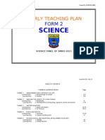 yearly plan science form 2