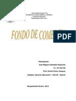 ENSAYO DE FONDO DE COMERCIO