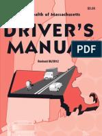 Massachusetts Driver's Manual - 2012-2013