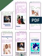 leaflet autisme