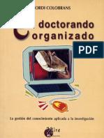 El doctorando Organizado