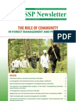 The role of community in forest management and protection (English)