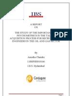 SIP REPORT - Anustha Chandra