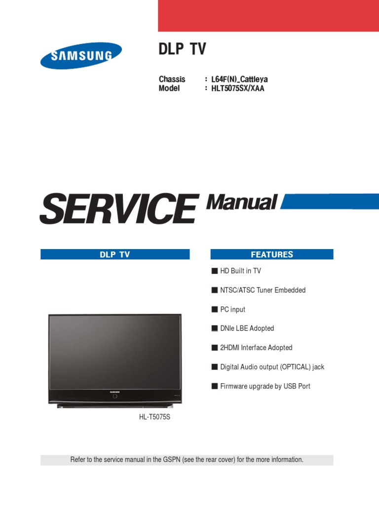 hlt5075s service manual rh scribd com