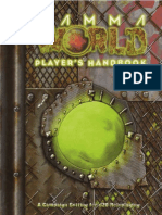Gamma World Players Handbook  6th Ed.