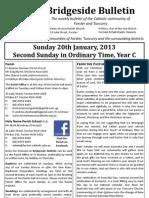 2013-01-20 - 2nd Ordinary Year C