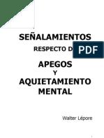 Apegos y Aquietamiento Mental
