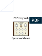 PSP EasyVerb Manual
