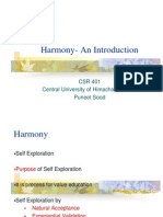 Harmony and its imprtance