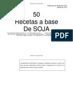 50 Recetas a Base de Soya