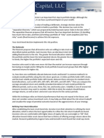 Asset Allocation- The Stock Bond Decision