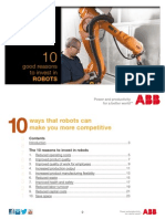 10 good reasons to invest in robots | ABB Robotics | Ebook