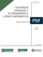 Campo de juego de destrezas del lenguaje matemático
