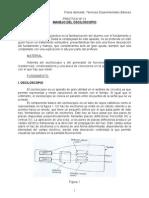 Manejo de osciloscopio y medidas en el laboratorio de electronica