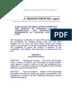COMELEC RESOLUTION
