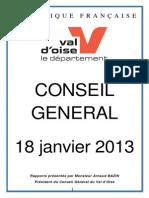Conseil génréral du Val d'Oise